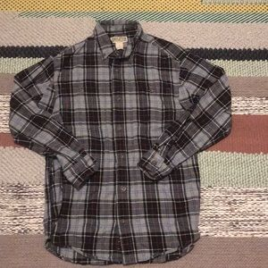 Flannel Duluth trading men's comfy button up shirt